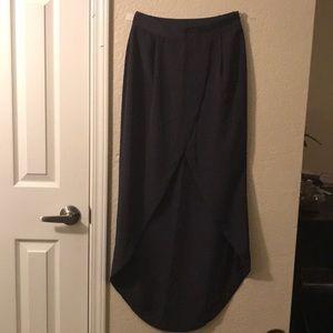 Top shop navy skirt
